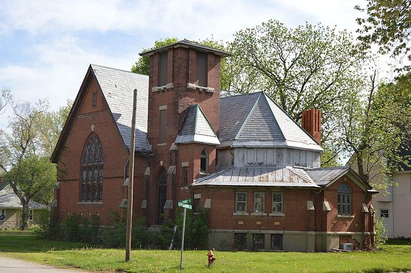 File:Tuscola First Christian Church, former building.jpg
