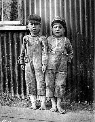 Naknek, Alaska - Children in Naknek, 1917