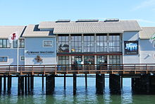 Ty Warner Sea Center - exterior closeup.JPG