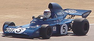 Tyrrell 005 - Image: Tyrrell 005 at 2004 Monterey Historic (1 cropped)