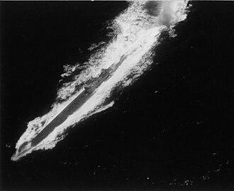 German submarine U-161 (1941) - Aerial attack on U-161 by a PBM-Mariner of VP-74 on 27 September 1943.