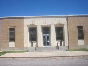 Wellington, Texas - Image: U.S. Post Office, Wellington, TX IMG 6186