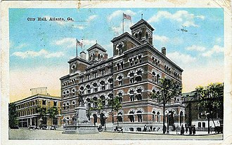 Atlanta City Hall - City Hall 1911–1930