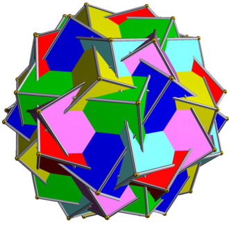 Compound of six pentagonal prisms - Image: UC34 6 pentagonal prisms