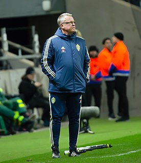 Janne Andersson Swedish football coach and former player