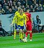 UEFA EURO qualifiers Sweden vs Romaina 20190323 Kristoffer Olsson 22.jpg