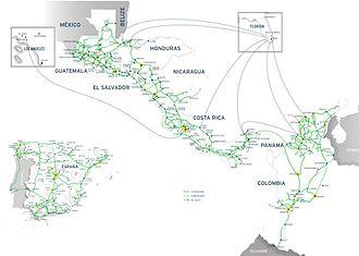 UFINET - UFINET's Fiber Optic network