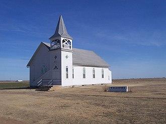Wellsford, Kansas - Church in Wellsford (2006)