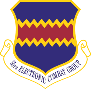 55th Electronic Combat Group - 55th Electronic Combat Group emblem