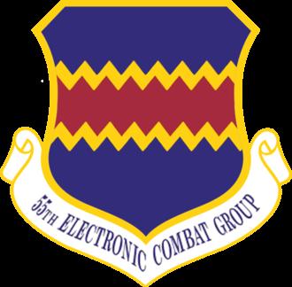 55th Electronic Combat Group - 55th Electronic Combat Group emblem