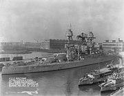 USS Arizona after 1931 modernization NARA 19-LC-19B-1