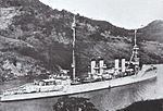 USS Detroit (CL-8) on the Panama Canal in the 1920s.jpg