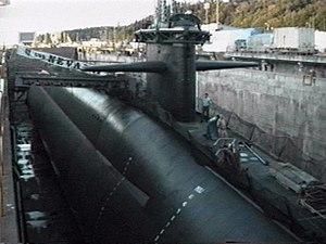 -Boomer USS NEVADA SSBN 733 USN Navy US Naval submarine