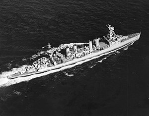 Southeast Pacific Area - USS ''Trenton'' in the Gulf of Panama in May 1943.