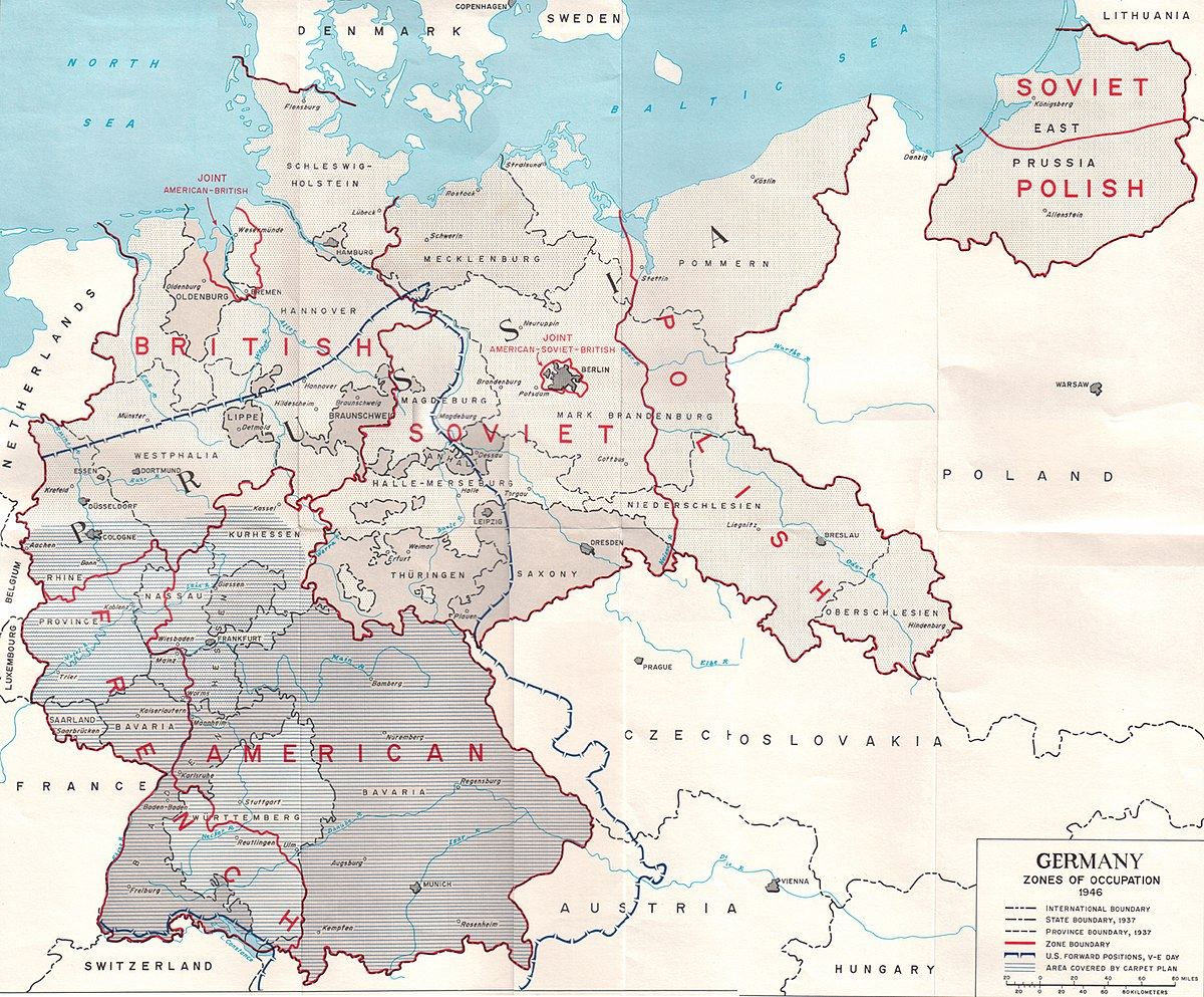 Rape During The Occupation Of Germany Wikipedia - Us troops near russia map