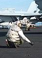 US Navy 020828-N-9593M-003 Sailors make safety checks on S-3B.jpg