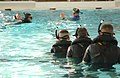 US Navy 021104-N-5862D-016 Students at the Aviation Rescue Swimmer School spend countless hours in the pool learning techniques to recover downed flight crew and personnel who have fallen overboard at sea.jpg
