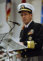 US Navy 031031-N-5576W-010 Vice Chief of Naval Operations (VCNO) Adm. Michael G. Mullen speaks at a graduation ceremony at Recruit Training Command (RTC) Great Lakes.jpg
