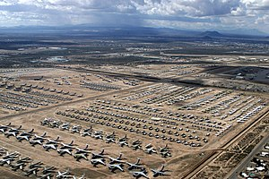 US Navy 040204-N-3122S-004 An aerial image of the Aerospace Maintenance and Regeneration Center (AMARC) located on the Davis-Monthan Air Force Base in Tucson, Ariz.jpg