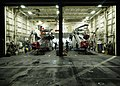 US Navy 041221-N-1229B-421 The night check crew assigned to the Gunbearers of Helicopter Combat Support Squadron Eleven (HC-11) conduct routine maintenance.jpg
