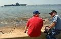 US Navy 060515-N-4097B-015 Oriskany is towed to sea from Naval Air Station Pensacola.jpg