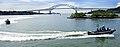 US Navy 080813-N-6266K-036 American and Panamanian security forces practice water steering and maneuvering.jpg