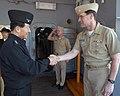 US Navy 090308-N-1113S-001 Republic of Korea Navy Chief of Naval Operations Adm. Jung Ok-Keun shakes hands with Vice Adm. John M. Bird, commander of the U.S. 7th Fleet.jpg