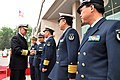 US Navy 090418-N-8273J-036 Chief of Naval Operations (CNO) Adm. Gary Roughead speaks with senior naval leadership of the People's Liberation Army Navy during a visit to PLA Navy headquarters in Beijing.jpg