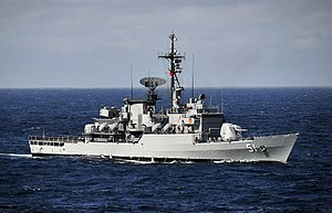 Lupo-class frigate - Image: US Navy 100326 N 4774B 247 The Peru navy frigate BAP Carvajal (FM 51) is participating in Southern Seas 2010, a U.S. Southern Command directed operation that provides U.S. and international forces the opportunity to operate in