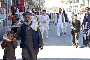 Asadabad, Afghanistan - Image: US soldiers patrolling the streets of Asadabad 6