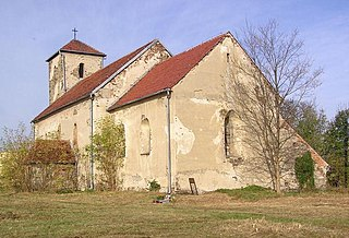 Udanin Village in Lower Silesian, Poland