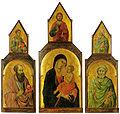 Ugolino di nerio, Trittico della Madonna col Bambino e i santi Pietro e Paolo.jpg