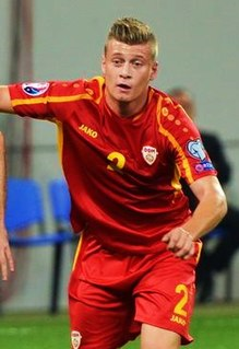 Ezgjan Alioski Macedonian association football player
