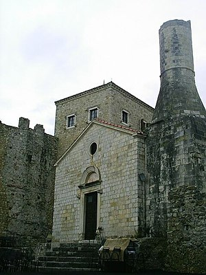 Ulcinj Castle - Church-Mosque
