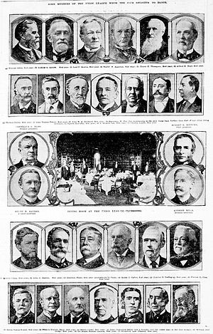 The Union League Club - Some league members from 1903