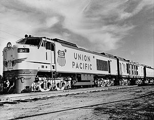Union Pacific GTELs - Third generation turbine locomotive