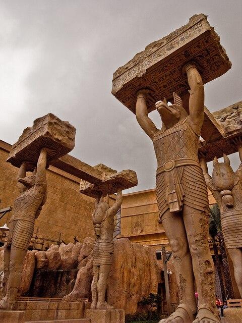 Universal Singapore Ancient Egypt Statue