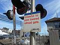 Unlawful to pass lowered Mineola Gate.jpg