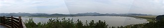 Changnyeong County - View overlooking the Upo wetlands