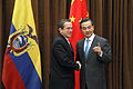 VII Reunión del Mecanismo de Consultas Política Ecuador - China (10962235763).jpg