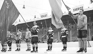 1954 Ice Hockey World Championships - Image: VM 1954