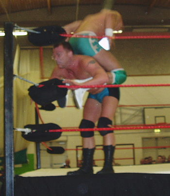 Photo from Varsity Pro Wrestling charity show