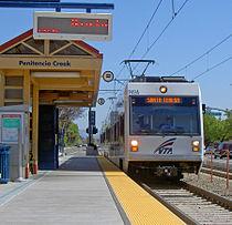 VTA light rail san jose penitencia creek station.jpg