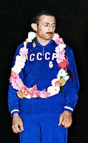 Vakhtang Balavadze - Balavadze at the 1959 World Championships