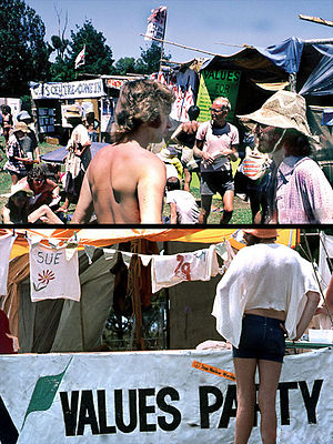 Values Party - Values Party at the 1979 and 1981 Nambassa alternatives festival.