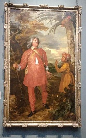 Earl of Denbigh - William Feilding, 1st Earl of Denbigh, visited India in 1631-3. On his return, Van Dyck painted him in oriental dress