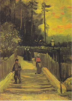 Montmartre (Van Gogh series) - Image: Van Gogh Kleiner Weg am Montmartre