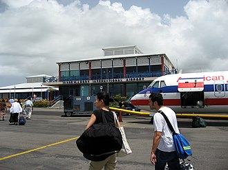 Vance W. Amory International Airport - Image: Vance Amory Airport facade, June 2006