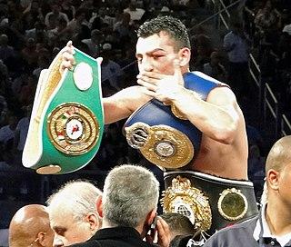 Vanes Martirosyan Armenian-American boxer
