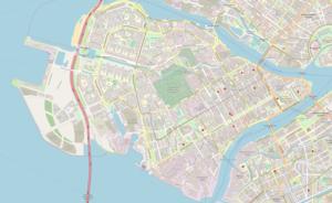 Lines of Vasilyevsky Island - Vasilyevsky Island in St. Petersburg